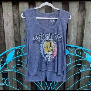Grateful Dead Band Tank Top by Chaser